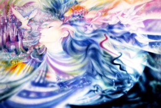 The Ecstasy of Feeling Free (c) Joan Marie