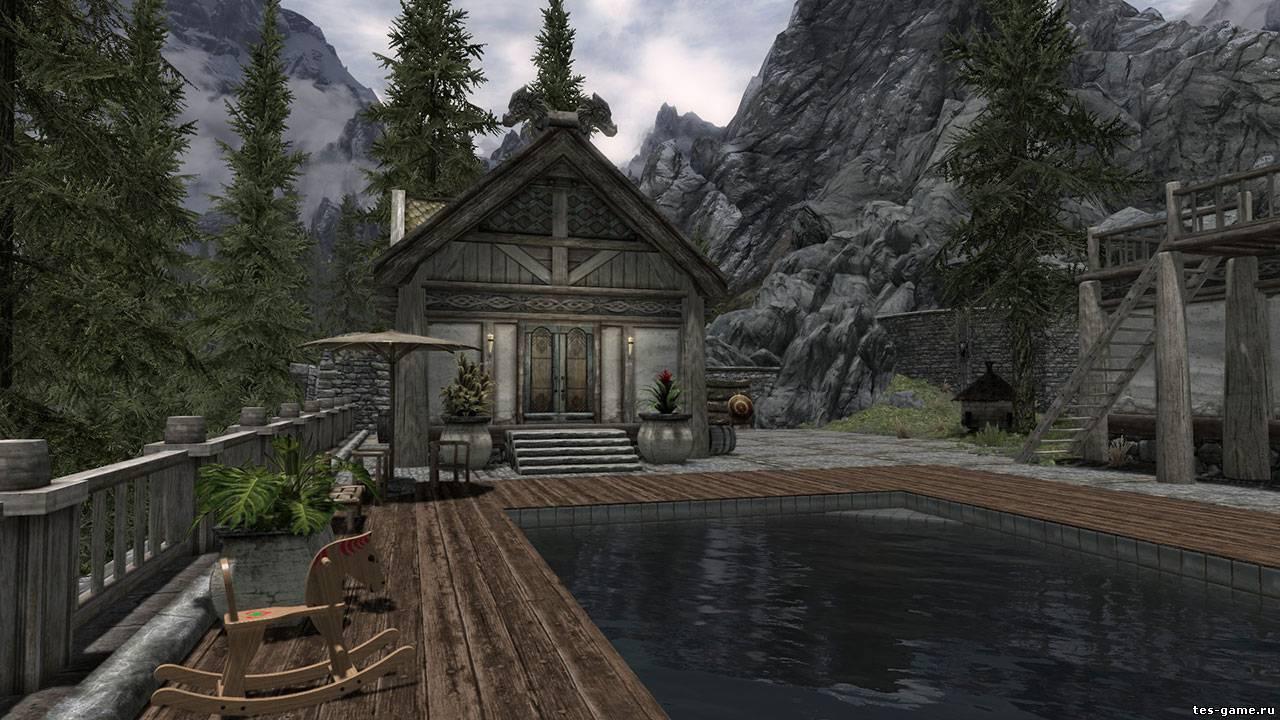 Tôi có thể xây nhà ở đâu trong Skyrim?