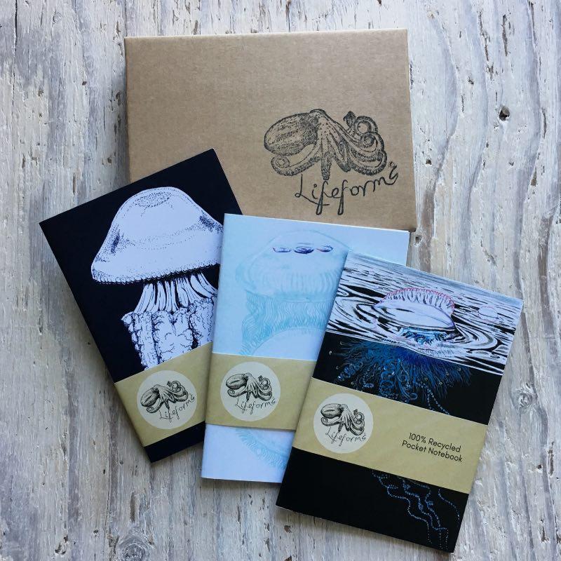 Cnidarians Pocket Notebook Gift Set