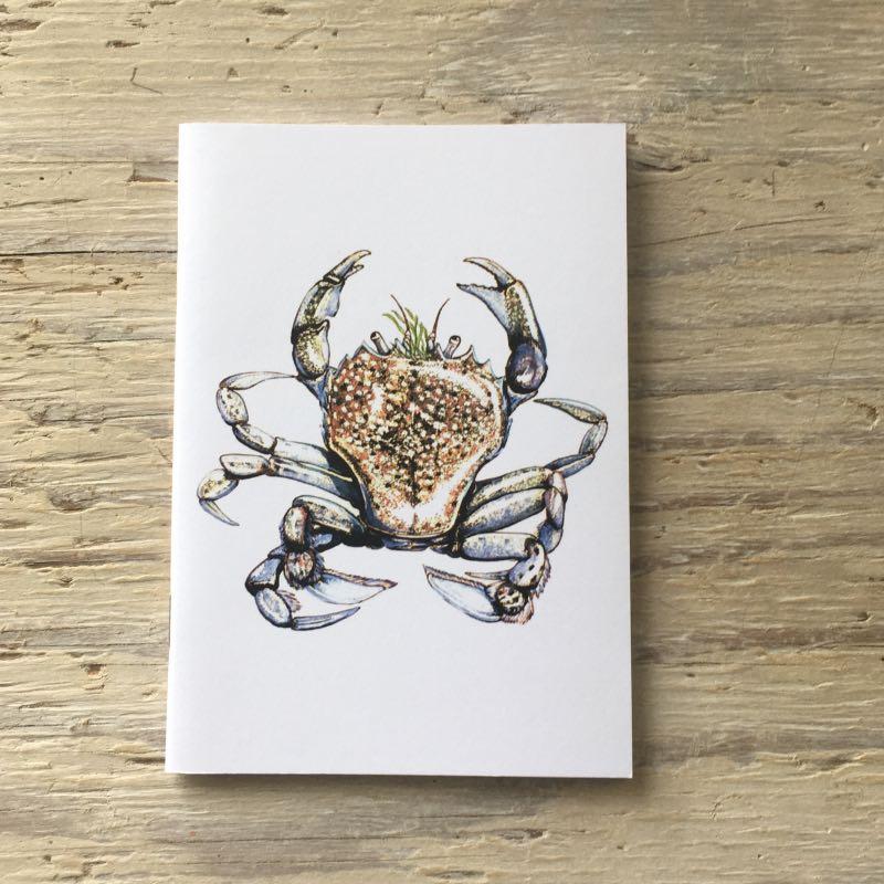pennants swimming crab pocket notebook