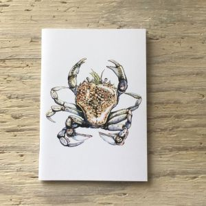 pennants swimming crab pocket notebook