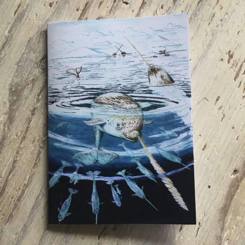 Narwhal Pocket Notebook