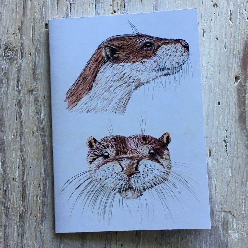 Otter Face Pocket Notebook