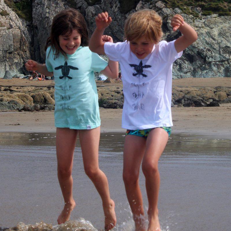 children's leatherback turtle t-shirt