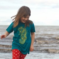children's seahorse t-shirt
