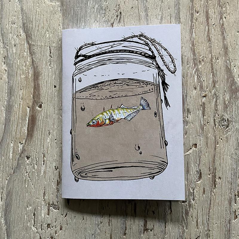 Stickleback Pocket notebook