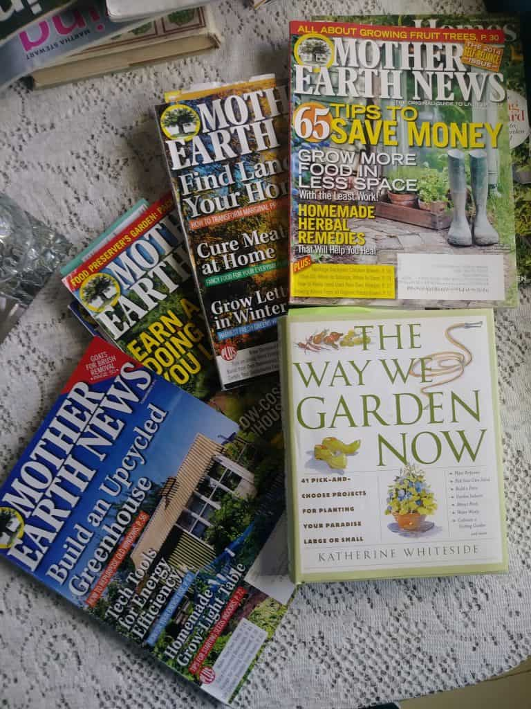 Mother Earth News magazines