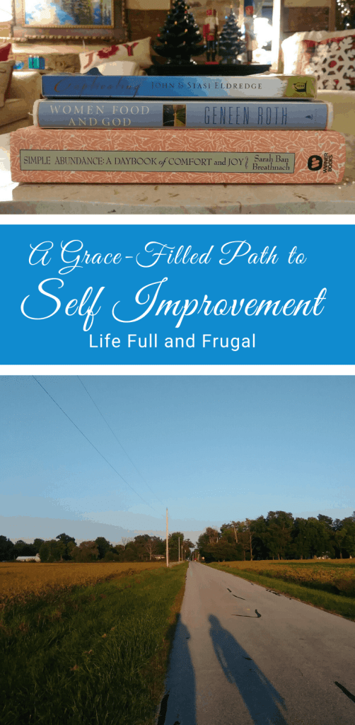 A grace fill path to self improvement canva life full and frugal