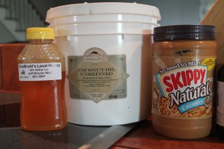 I am SO grateful to have a sweet friend who happens to sell honey harvested by her husband! If you can't get local raw honey though, it's fine! Just use what you have!