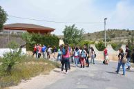 Cordel de Perín, primera parada de los corresponsales y lugar donde se redescubrió el garbancillo de Tallante en 2004
