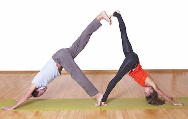 Йога челлендж на двоих фото и видео