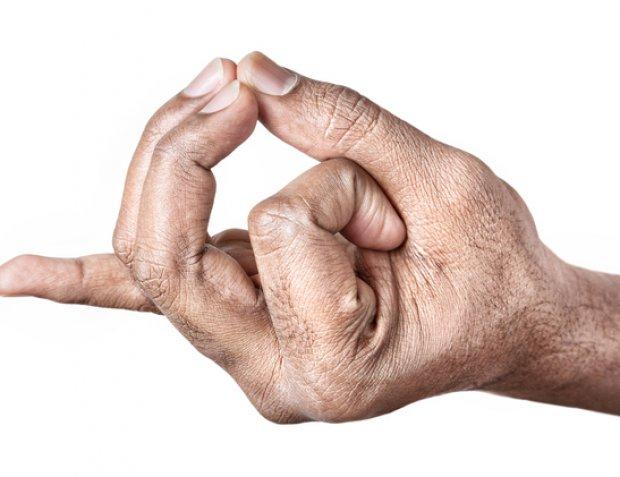 Acuitate vizuală datorată degetelor