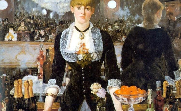 Эдуард Мане Бар в Фоли-Берже 1882г 96х130см Courtauld Institute of Art, London, UK