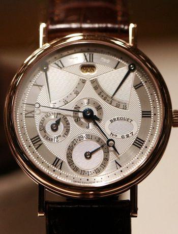 Breguet, Breguet с вечным календарем и високосным годом, Наручные часы Breguet