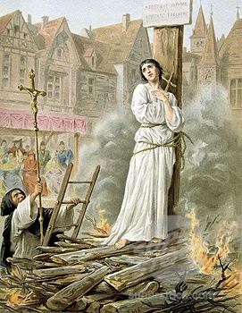 Сожжение на костре Жанны д'Арк
