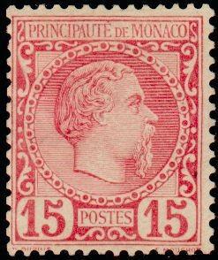 Марка Монако Prince Charles III