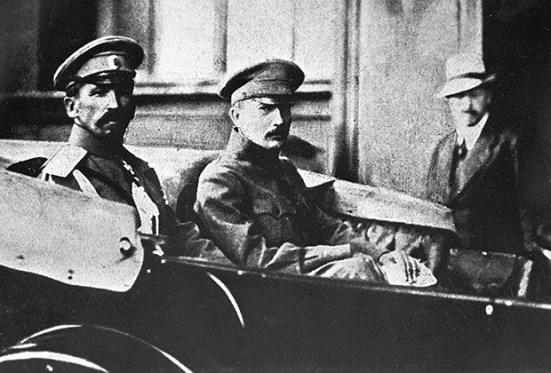 Александр Керенский и Борис Савинков