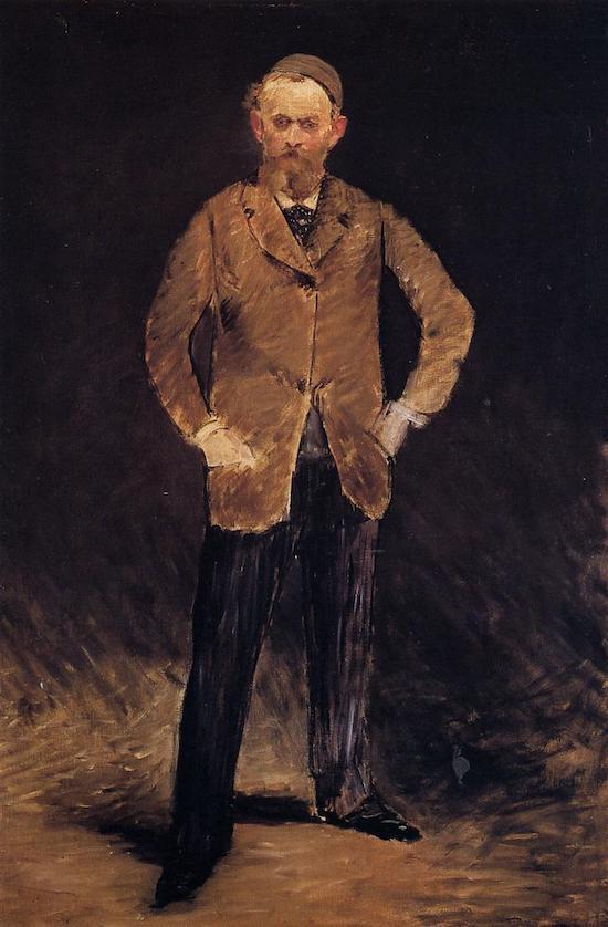 Эдуард Мане Автопортрет в тюбетейке 1878 Bridgestone Museum of Art, Tokyo, Japan