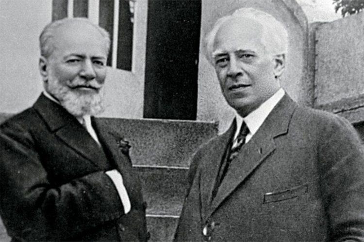 Немирович-Данченко и Станиславский