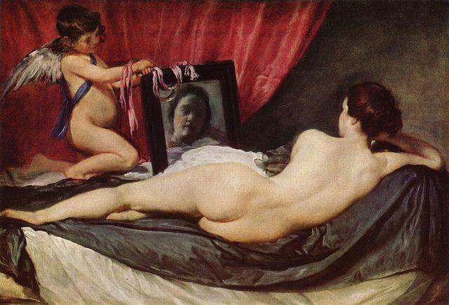 Веласкес Венера с зеркалом