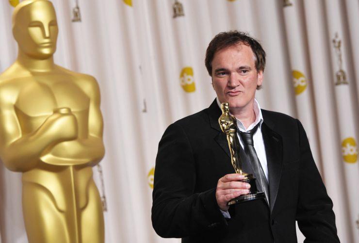 Квентин Тарантино и его заслуженный Оскар