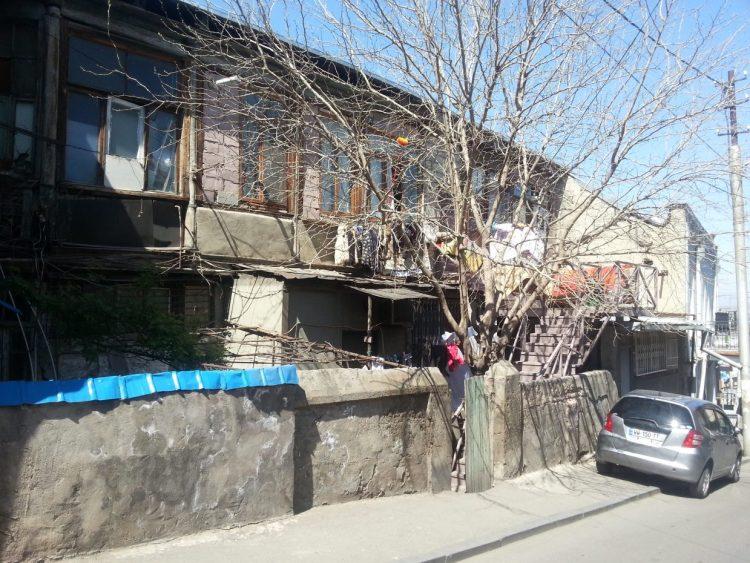 Тбилиси, Грузия, ветхий дом