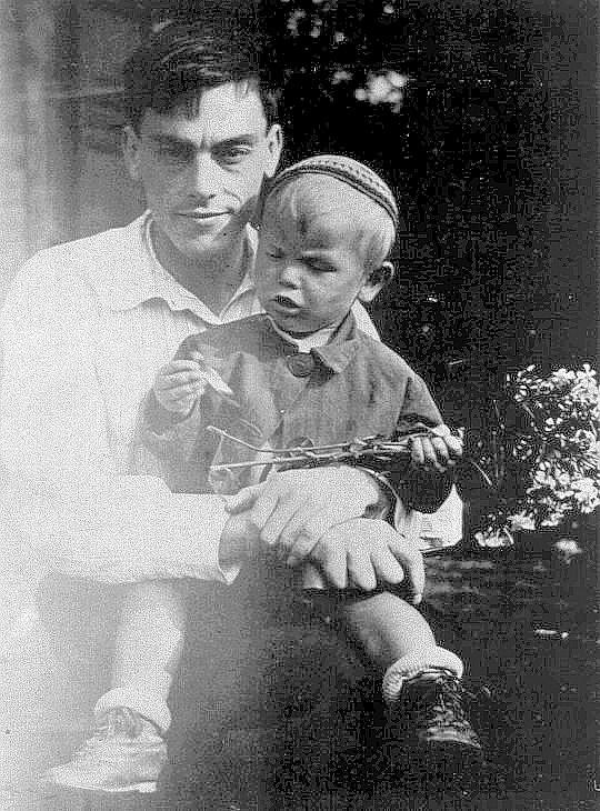 Поэт Арсений Тарковский, сын Андрей Тарковский