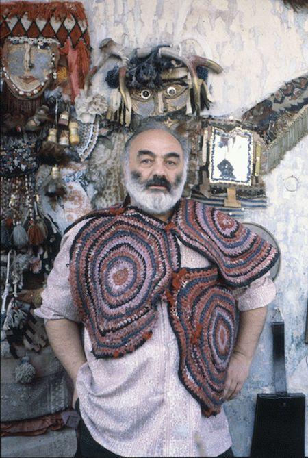 Сергей Параджанов, Параджанов дурачится, фото Параджанова