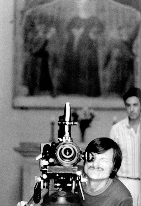 Тарковский, Андрей Тарковский, биография Тарковского, Тарковский за кинокамерой, процесс съемки
