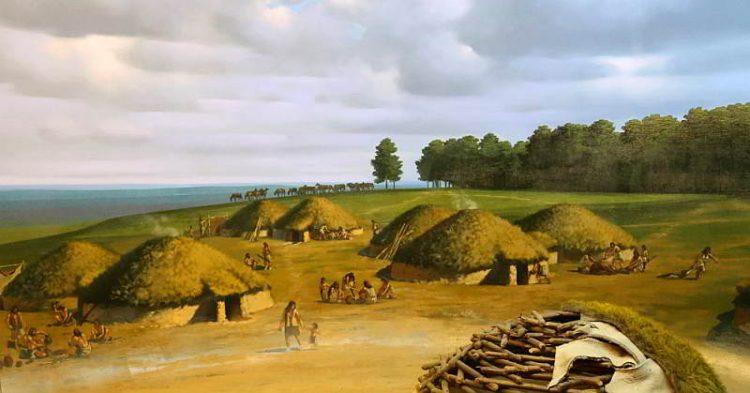 Поселение ботайской культуры