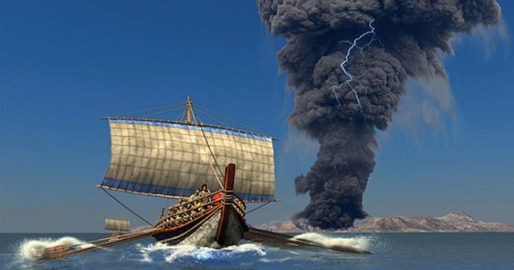 Извержение вулкана Тира, Извержения вулканов: