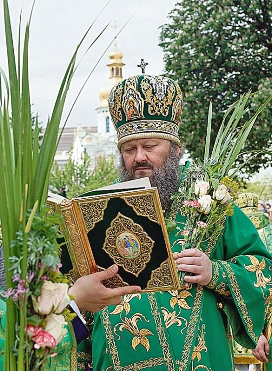 Троица литургия владыка Павел