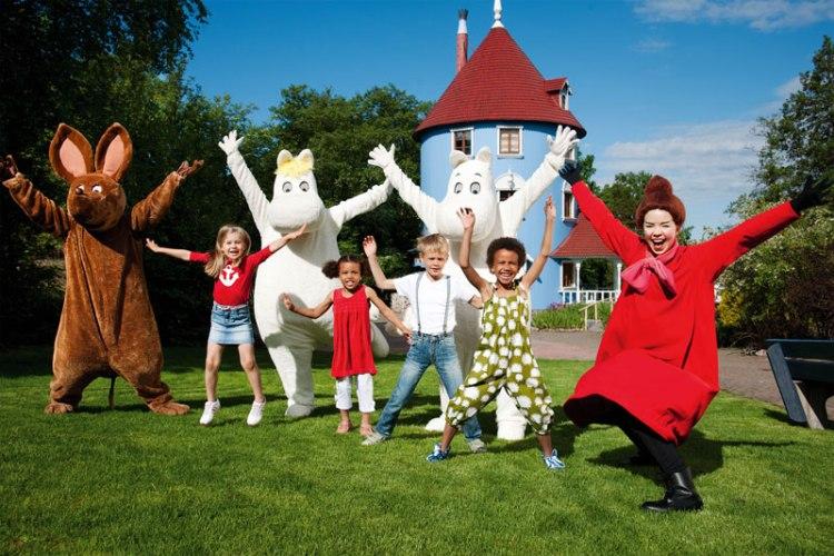 Муми-парк в Наантали, Муми-Тролли, Туве Янссон, Финляндия