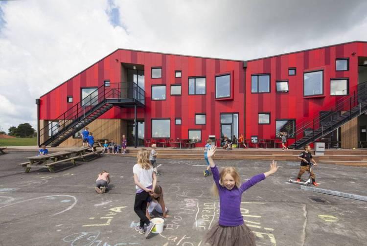 Сборы в школу, Дания, школа, школьницы