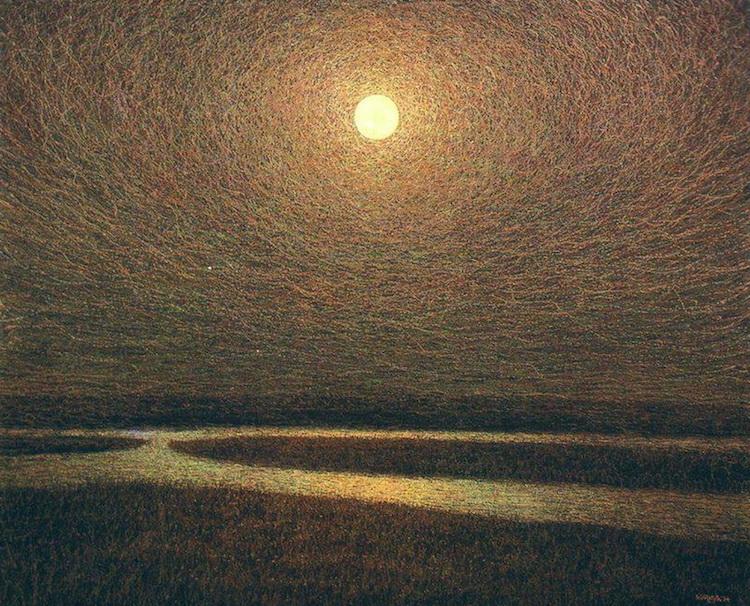 Иван Марчук, картины, полная луна