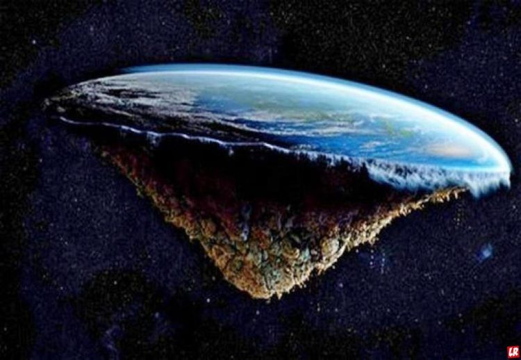 земля плоская, теории заговора