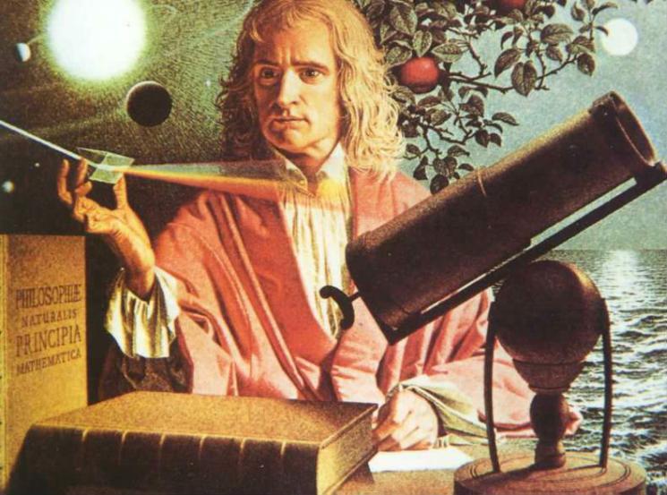 Фишки дня — 4 января, Исаак Ньютон, Международный день Ньютона