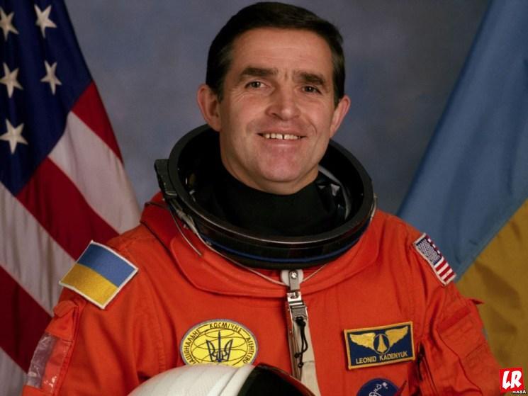 фишки дня, Леонид Каденюк, первый космонавт Украины