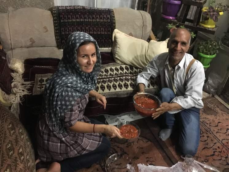 Катя Шанти, Иран, как стать гидом, профессия гида, экскурсовод
