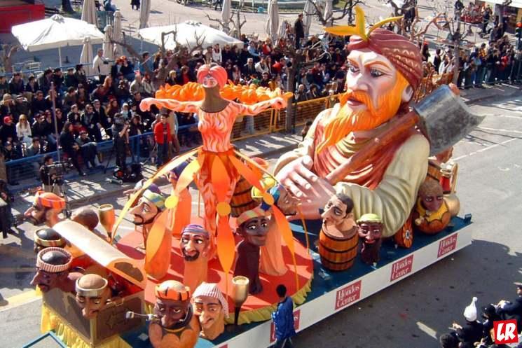 фишки дня - 28 января, Апокриес, карнавал в Греции