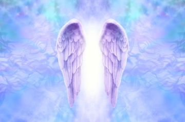 Смартфон для ангела, крылья ангела