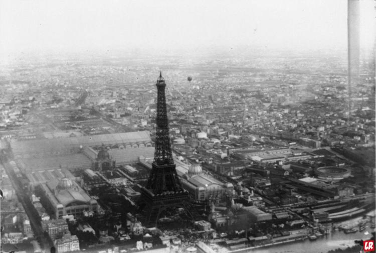 Эйфелева башня, 1899. всемирная выставка, Париж