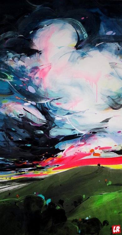 Лилия Студницкая, искусство, арт, художник, выставка, ночь, галерее Лавра, Киев