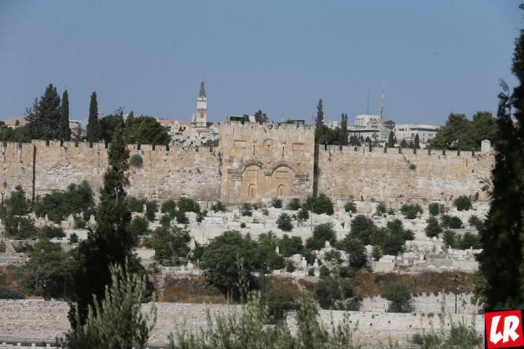 """Иерусалим, спецпроект """"Паломники. Святая Земля"""", Золотые ворота"""