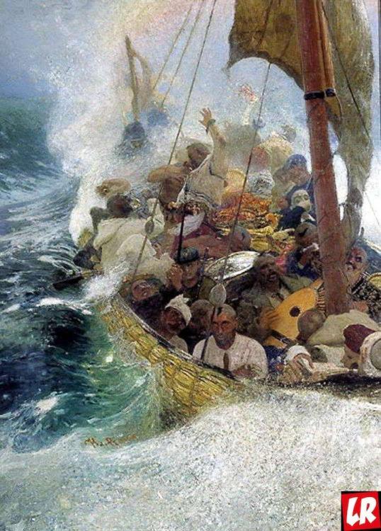 Репин — «Казаки на море»