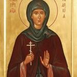 фишки дня, преподобномученица Евдокия Илиопольская