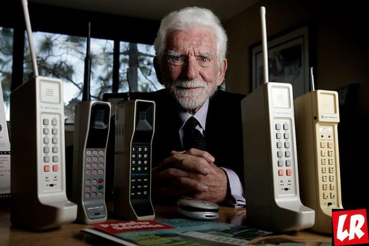 фишки дня - 2 апреля, Мартин Купер, изобретатель мобильного телефона, первый мобильный телефон