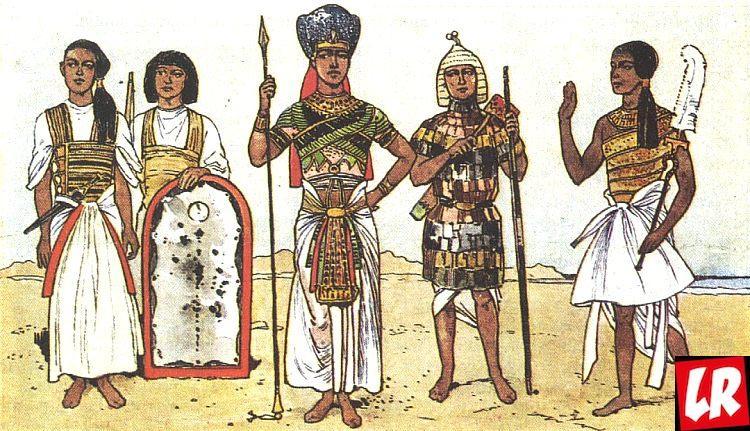 фараон, история костюма