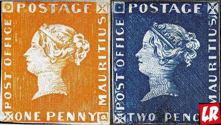 фишки дня - 1 мая, День почтовой марки, марка Маврикий