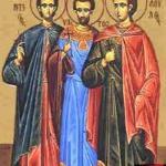 фишки дня, мученики Леонтий Ипатий Феодул